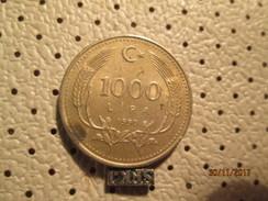 TURKEY 1000 Lira 1990 # 4 - Turkey