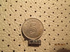 MALAYSIA 5 Sen 1967 # 4 - Malaysia