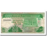 Mauritius, 10 Rupees, 1985, KM:35a, TTB+ - Maurice