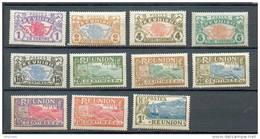 REU 330 - YT 56 à 59 / 61-62-64 GTC-65-66-68-69 */** - Réunion (1852-1975)