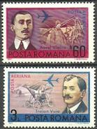 RUMANIA 1972 Mi:RO 3048/49,  Yt:RO PA 234/35 ** Mnh - Aéreo