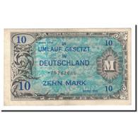 Allemagne, 10 Mark, 1944, KM:194d, TTB+ - [ 5] Ocupación De Los Aliados