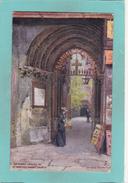 Old Tuck`s Aquarette Postcard Of Gateway,Saint Bartholomew`s Church,London..V40. - London