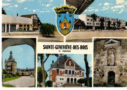 91-----SAINTE GENEVIEVE DES BOIS---multivues-- Voir 2 Scans - Sainte Genevieve Des Bois