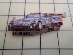 Pin1012b  Pin's Pins / Rare , Belle Qualité AUTOMOBILES / 24 HEURES DU MANS JAGUAR LE MANS 1990 SILK CUT - Jaguar
