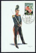BE -  Officier De Voltigeurs -  Non Circulé - Not Circulated - Nicht Gelaufen. - Uniformes