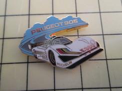 Pin1012b  Pin's Pins / Rare , Belle Qualité AUTOMOBILES / 24 HEURES DU MANS PEUGEOT 905 Par ARTHUS-BERTRAND - Peugeot
