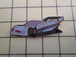 Pin1012b  Pin's Pins / Rare , Belle Qualité AUTOMOBILES / 24 HEURES DU MANS PEUGEOT 905 - Peugeot