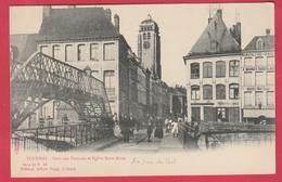 Tournai - Pont Aux Pommes Et Eglise Saint Brice - édit Albert Sugg à Gand ( Voir Verso ) - Tournai