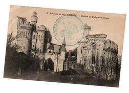 Cpa 2 Environs De Montdidier Chateau De Boulogne-la-grasse - Montdidier