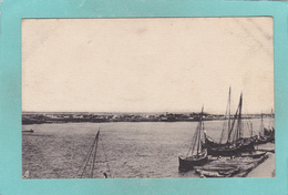 Old Tuck`s Postcard Of River Scene,Euphrates, Şanliurfa, Turkey,V40. - Turkey