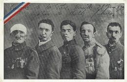 WWI - C P A  Congrès De La Paix,Versailles 28 Juin 1919- Délégation De Mutilés Français - Guerre 1914-18