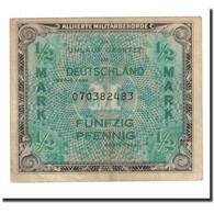 Allemagne, 1/2 Mark, 1944, KM:191a, TB+ - [ 5] Ocupación De Los Aliados