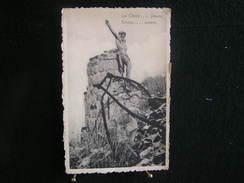 A-103 / Brabant Flamand - Landen  - Wange,  Le Christ ... Pleure   -  E. Mignolet,  Curé - Pastoor  / Circulé  1960 - Landen
