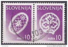 Slovenia 1997 Sc. 297 - Idrijan Lace - Pizzo - Merletti - Slovenija - Slovenia