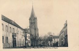 G143 - 03 - LAPALISSE - Allier - Boulevard De L'Hôtel De Ville Et L'Eglise - Lapalisse