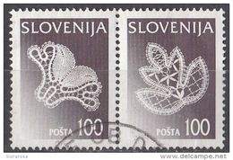 Slovenia 1997 Sc. 303 - Idrijan Lace - Pizzo - Merletti - Slovenija - Slovenia