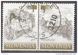 Slovenia 2000 Sc. 400 - Castles Castelli : Predjama E Velenje Slovenija Castel Lueghi - Slovenia