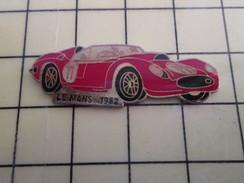 Pin1012b  Pin's Pins / Rare , Belle Qualité AUTOMOBILES / VOITURE ENDURANCE LE MANS 1982 FERRARI ? - Ferrari