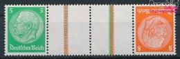 Deutsches Reich KZ21.2 Mit Falz 1934 Hindenburg WZ 4 (9019183 - Deutschland