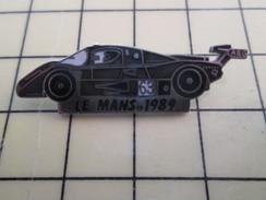 Pin1012b  Pin's Pins / Rare , Belle Qualité AUTOMOBILES / VOITURE ENDURANCE AEG LE MANS 1989 SAUBER MERCEDES - Mercedes