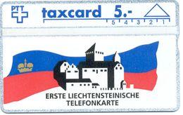 LIECHTENSTEIN - 1st L&G CARD - Liechtenstein