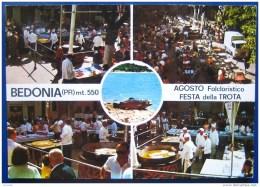 Cartolina Bedonia (PR) 1979 Festa Della Trota - Italia