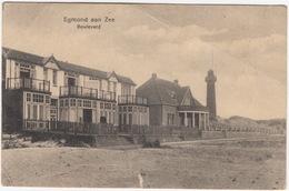 Egmond Aan Zee - Boulevard - Vuurtoren - (Noord-Holland, Nederland/Holland) - Uitg. A. Belleman 16 33884 - Egmond Aan Zee