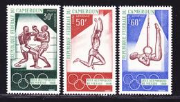 CAMEROUN AERIENS N°  118 à 120 ** MNH Neufs Sans Charnière, TB (D1859) Sports, Jeux Olympiques De Mexico - Cameroun (1960-...)
