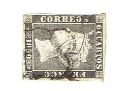 Timbres Espagne 1850 Oblitérés - Spagna