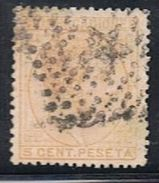 Timbres Espagne 1878 Oblitérés - 1875-1882 Royaume: Alphonse XII