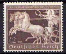 Deutsches Reich, 1940, Mi 747 *, Das Braune Band [100313III] @ - Alemania