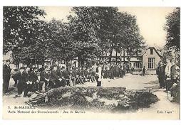 94 ST MAURICE ASILE DES CONVALESCENTS JEU DE QUILLES CPA 2 SCANS - Saint Maurice