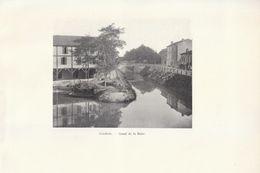 1900 - Iconographie - Condom (Gers) - Le Canal De La Baise - FRANCO DE PORT - Sin Clasificación