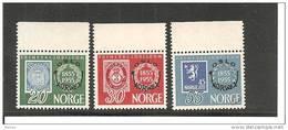 NorMi.Nr.393/95- NORWEGEN -  NORWEX 1955 Mit Oberrand ** - Norwegen