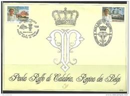 Herdenkingskaart - Carte-souvenir Paola (cob ) Cote  : 8.50 Euro - Cartes Souvenir