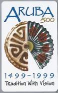 Telefoonkaart. Setar. Aruba 500. - 1499 - 1999. Tradition With Vision. 30 Units. 2 Scans. - Aruba