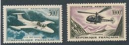 BP-55: FRANCE: Lot  Avec PA N°35**-37** - Airmail