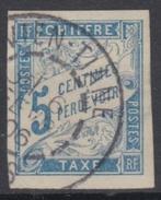 #124# COLONIES GENERALES TAXE N° 8 Oblitéré Vien-Tiane (Laos) - Postage Due
