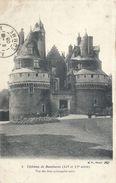 SOMME - 80 - RAMBURES - Le Château Vue Des Trois Tours - France