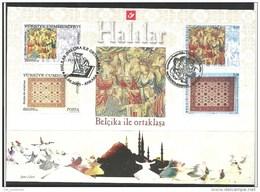 Herdenkingskaart - Carte-souvenir Turkije  3413 HK (cob ) Cote  : 8.00 Euro - Souvenir Cards