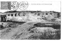 A COTE DE SANCERRE   -LA CARRIERE DE SILEX DE L'ORME AU LOUP - 1905 - A100-31 - Sancerre