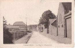 02DB097 CPA 02 - FRESNOY LE GRAND  LA RUE DU 4 SEPTEMBRE - Andere Gemeenten