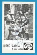 (A728) - Signature / Dédicace / Autographe Original - Digno Garcia - Compositeur, Interprète - Paraguay - Autographes