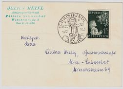 """1953, """" Christkindl - 14.12.1953 """", ANK € 140.-    , # 9016 - 1945-60 Covers"""