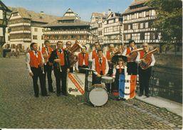Orchestre Folklorique Perle De Strasbourg Super Grand Prix Concours International à Colmar Cpsm Format 10-15 - Strasbourg