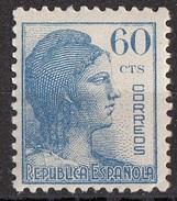 Spagna 1938 Sc. 601 Republica Espanola MNH Spain Espana - 1931-Oggi: 2. Rep. - ... Juan Carlos I