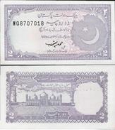 Pakistan ND (1985-99) - 2 Rupees - Pick 37 UNC - Pakistan