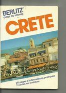 LA CRèTE Guide De Voyage.. - Kaarten