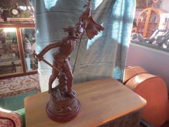 """Sculpture En Régule """" Patrie""""  De Louis Moreau - Autres"""